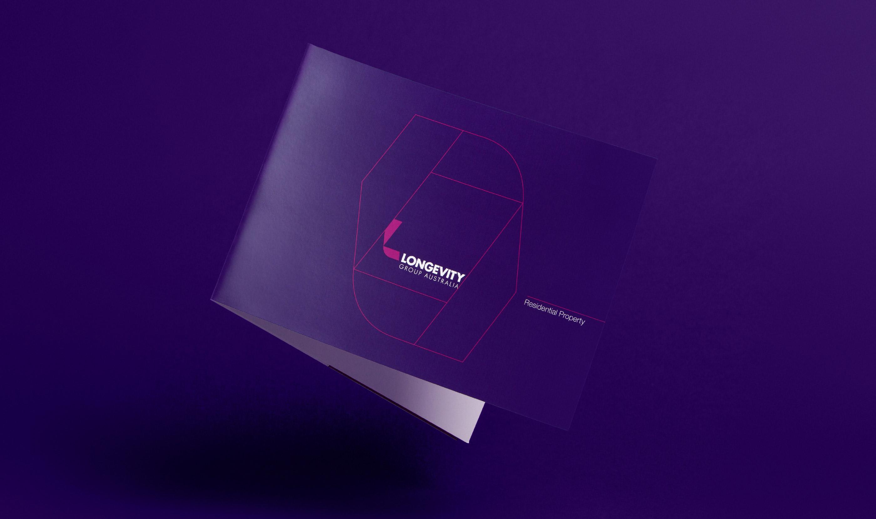Longevity Group Brochure Design