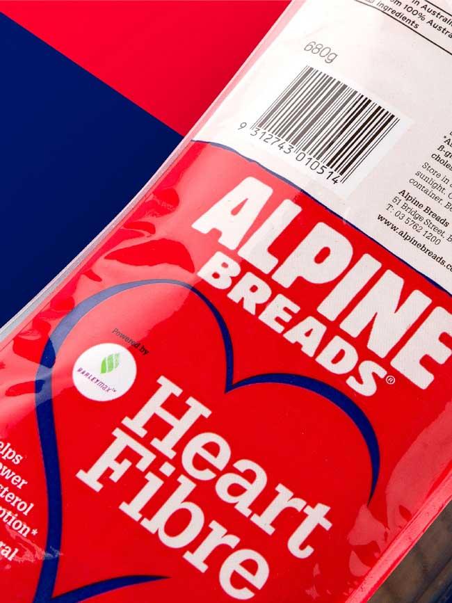 Alpine Bread Packaging Design