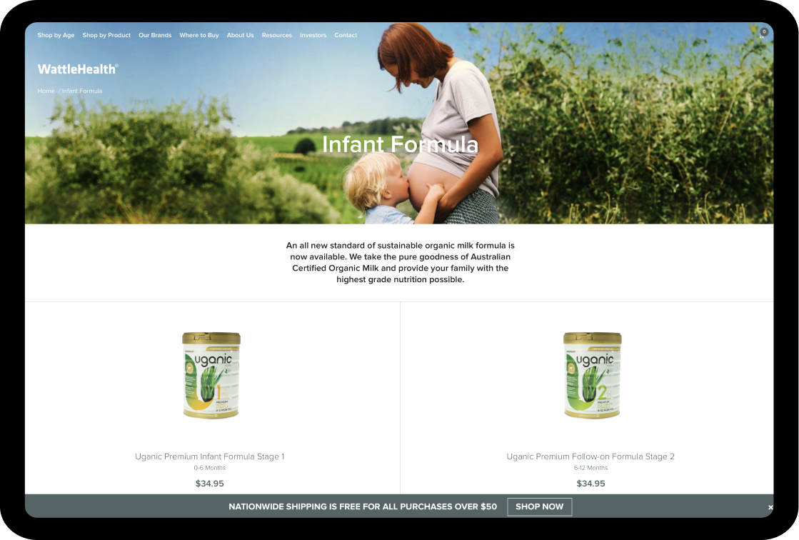 wattle health website